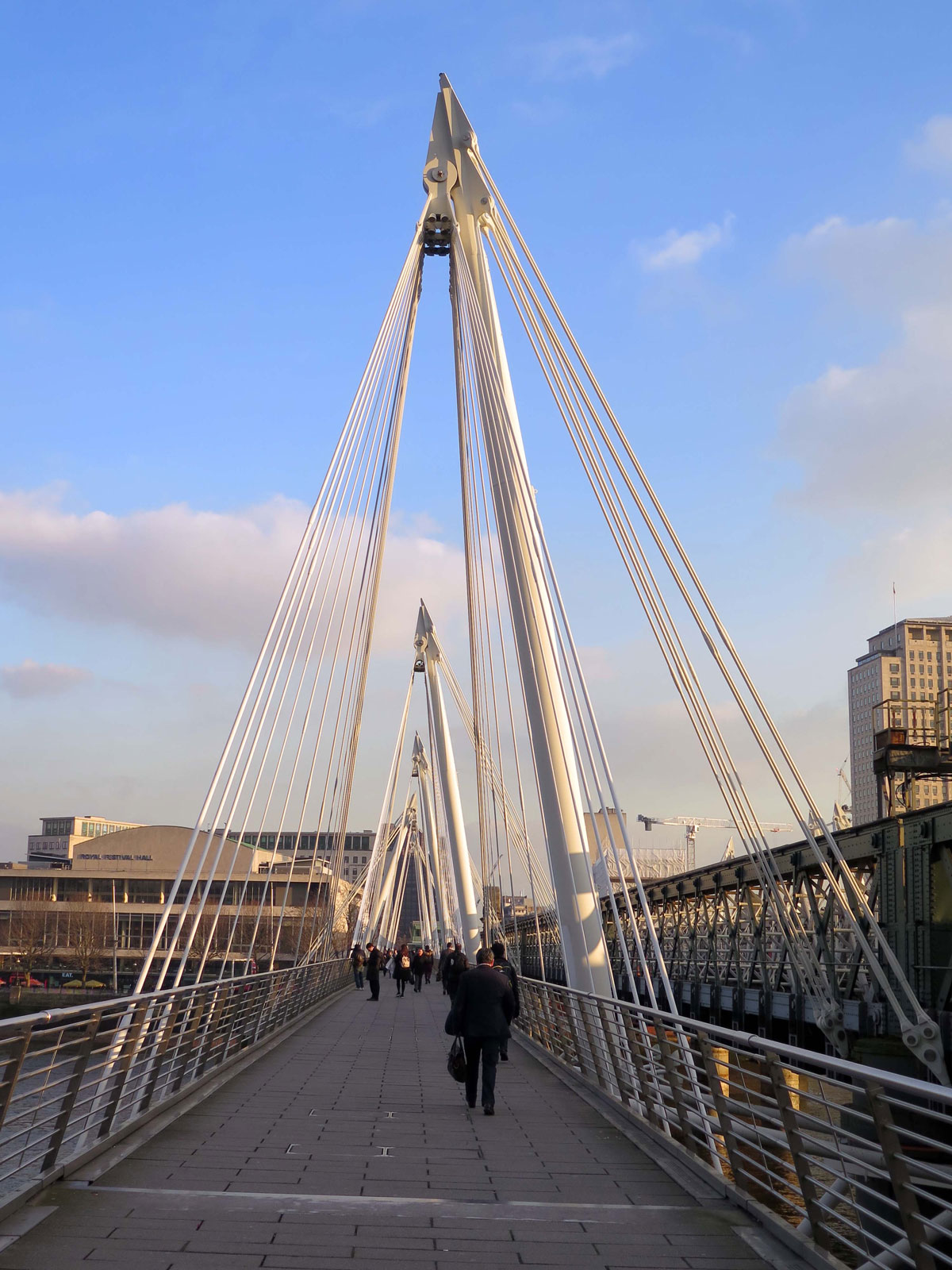 02-Walking-across-to-the-South-Bank-on-the-Dowmstream-Footbridge