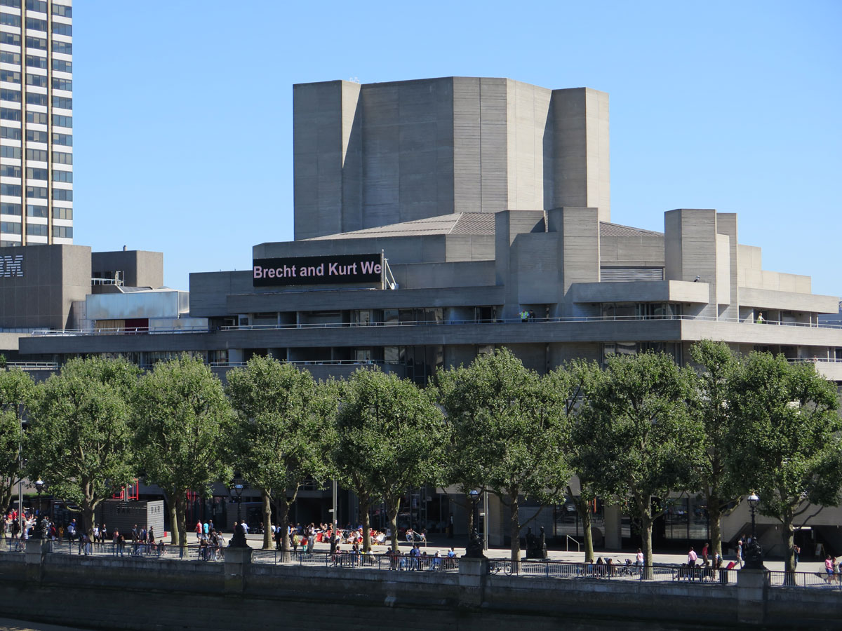 The National Theatre and the Southbank