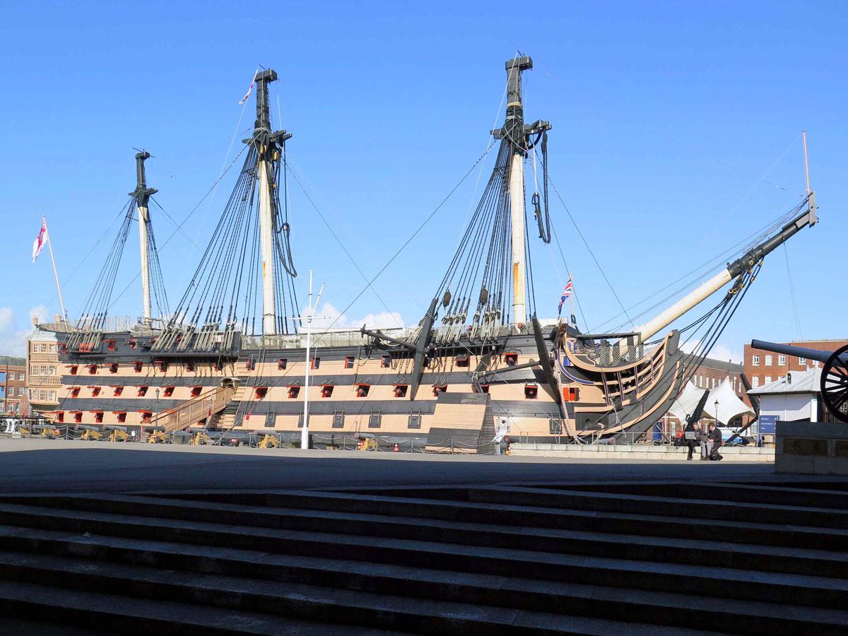 HMS Victory, Plymouth Dockyard