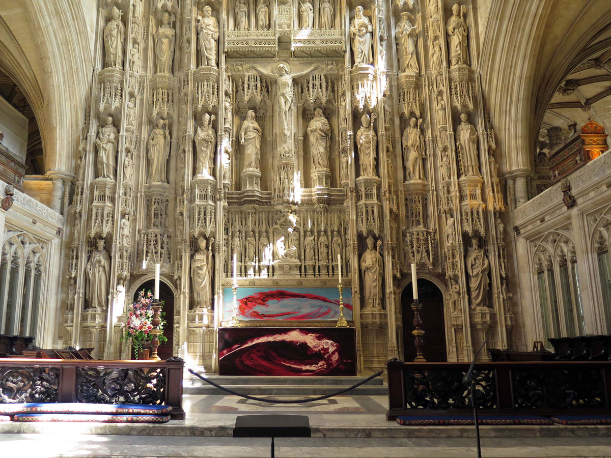 The High Altar and Great Screen