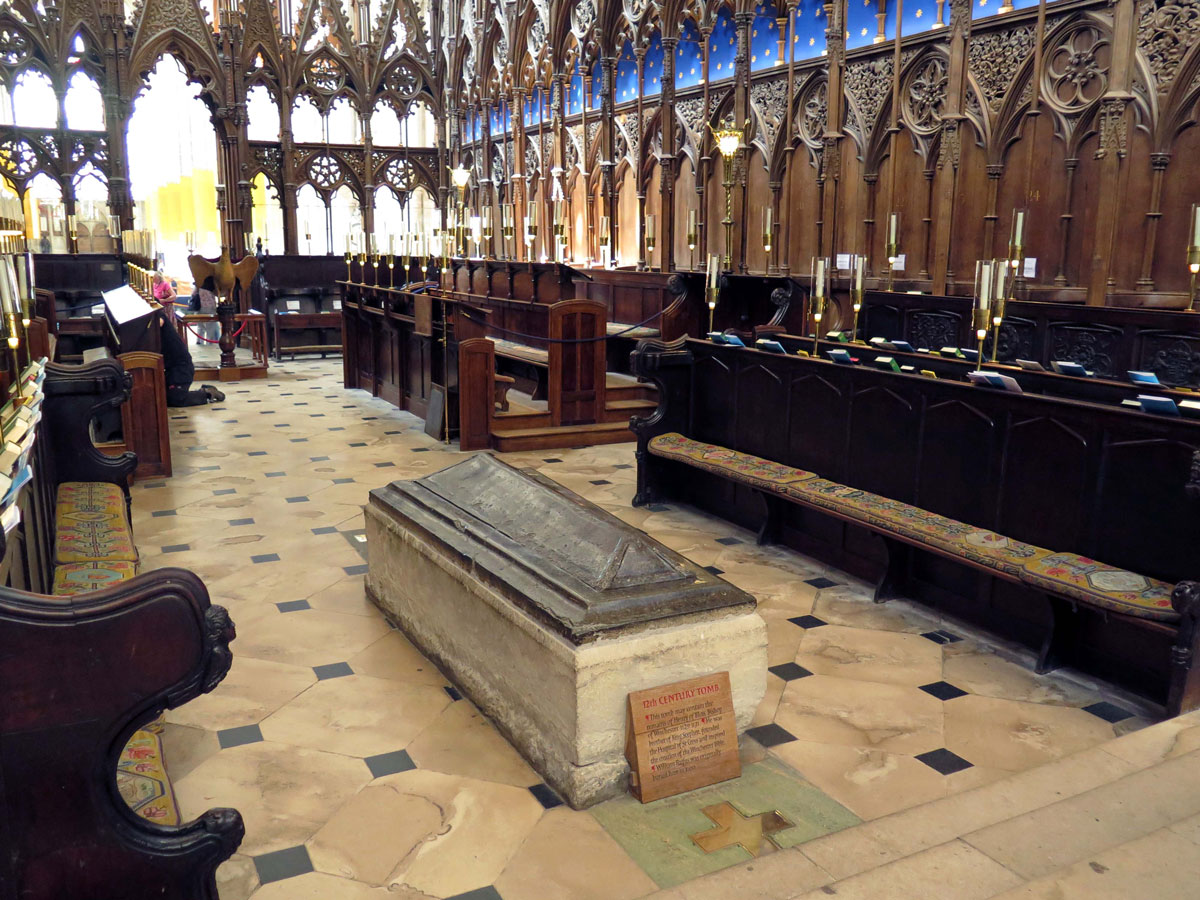 The Choir and Tomb of Henry of Blois