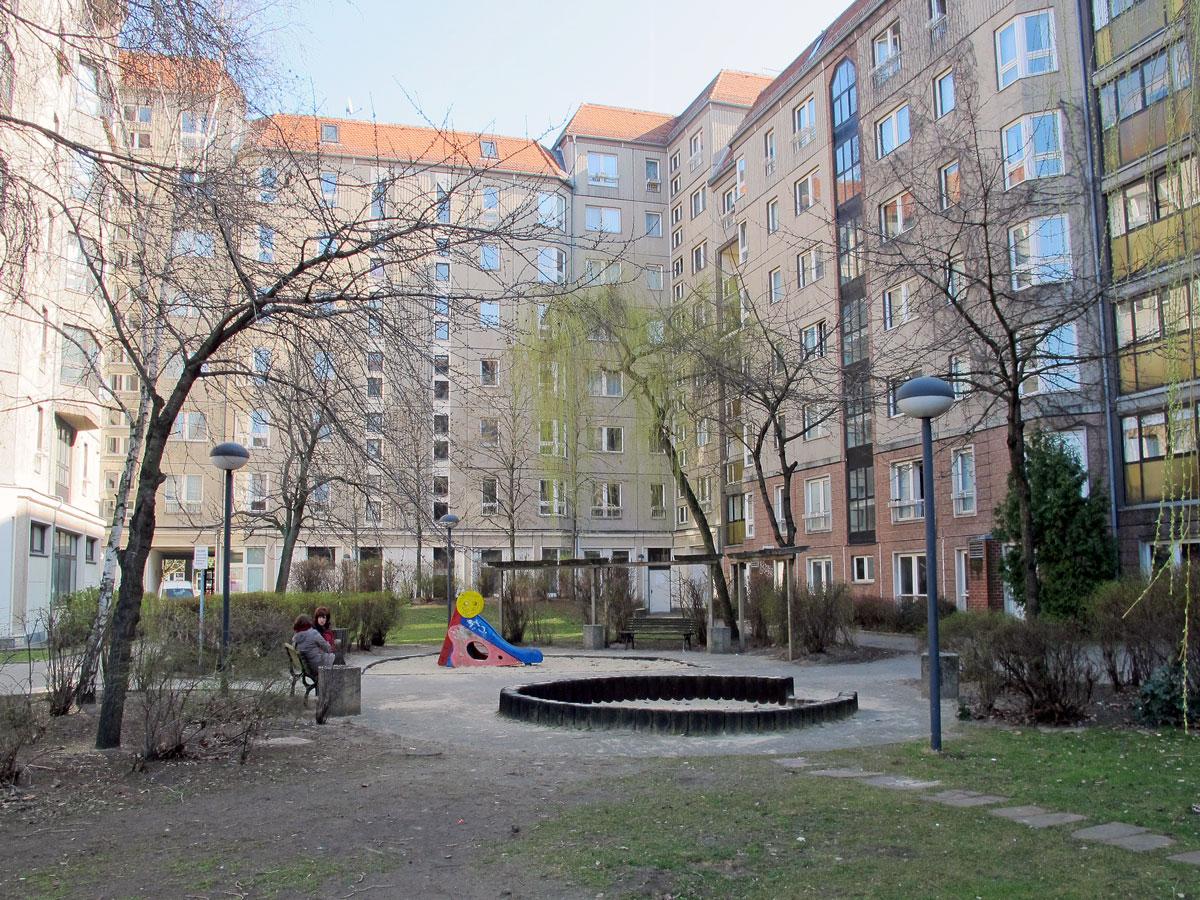 The Location of Hitler's Bunker in the Ministergarten