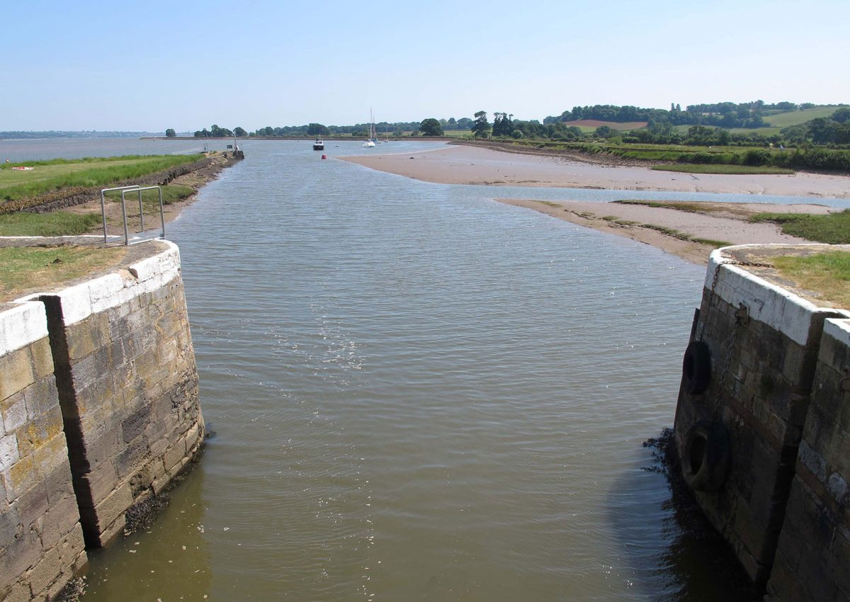 Where the Canal meets the River