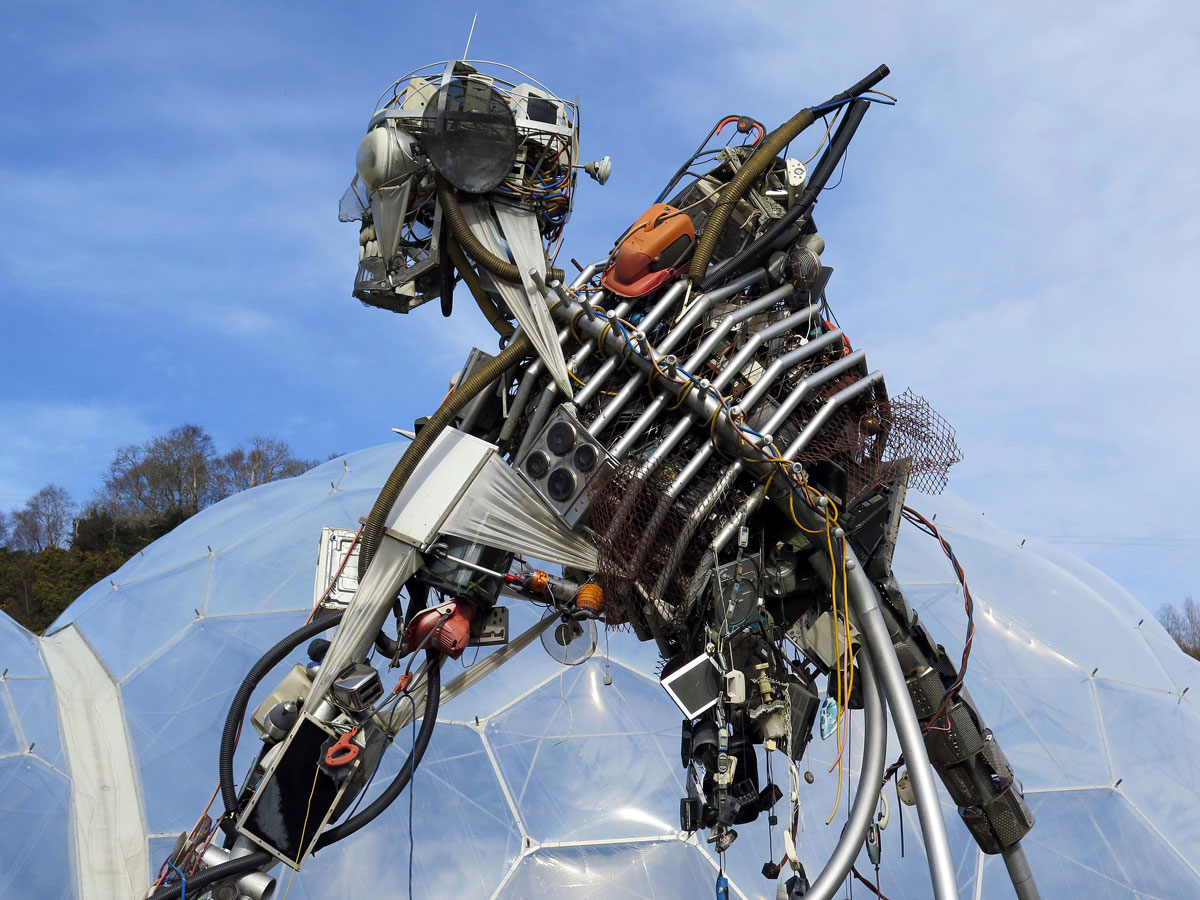The WEEEman (Waste Electricaland Electronic Equipment)