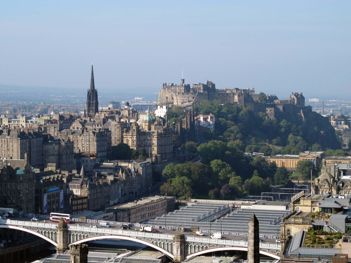 A view of the Castle from Calton Hill