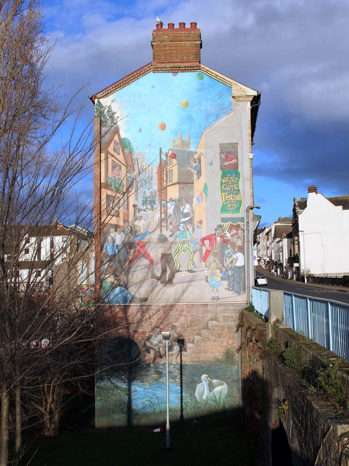 The Former Westgate Mural