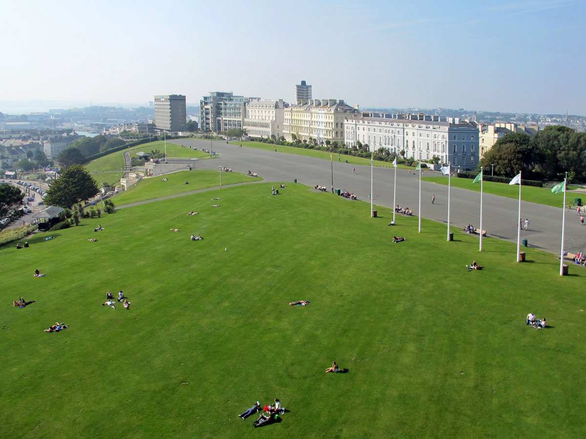 017-Looking-towards-The-Citadel-from-the-top-of-Smeaton's-Tower-(2)