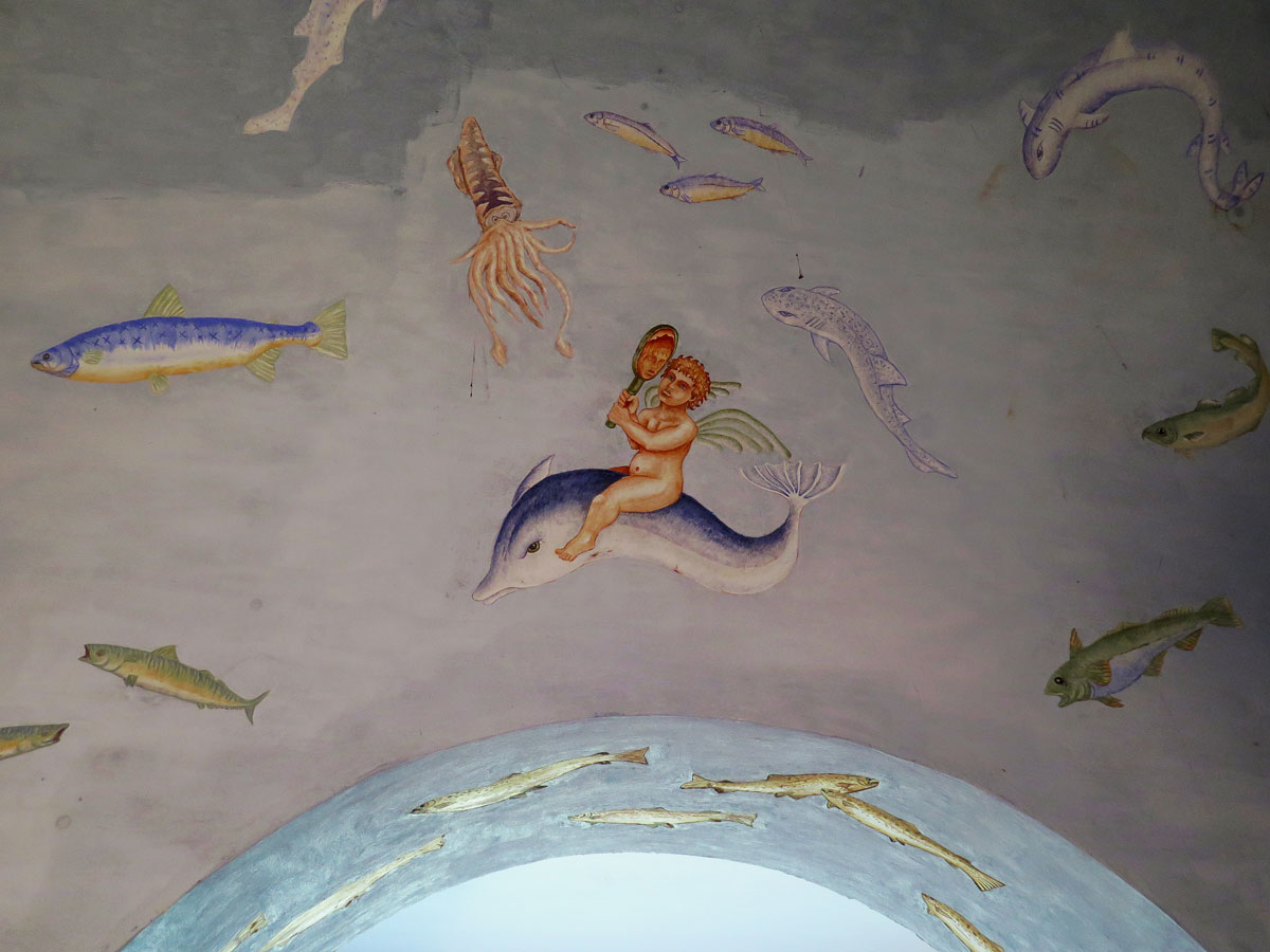 Frescoes in the Cold Room of the Bath House