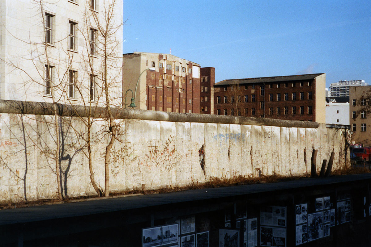 The Berlin Wall in 2003