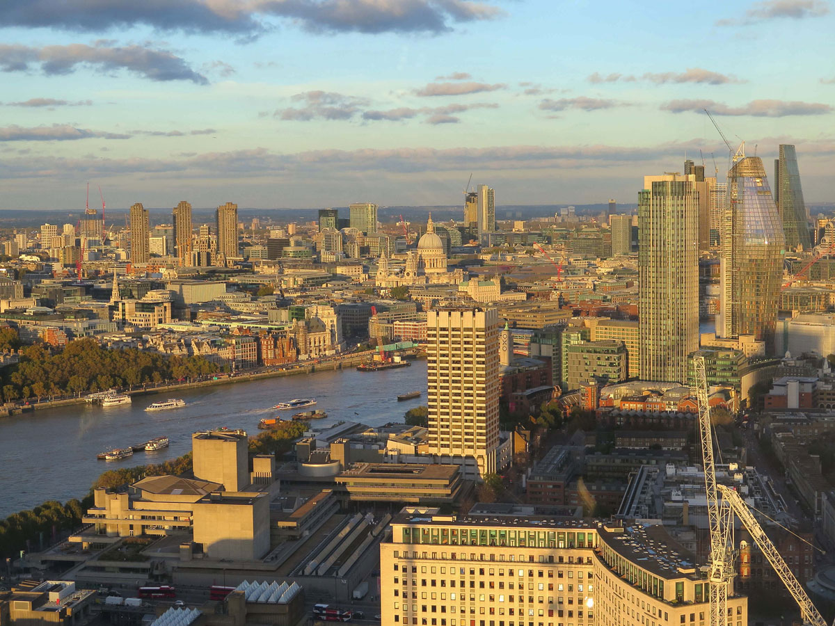 09-View-of-St-Paul's-and-the-Barbican-at-Sunset