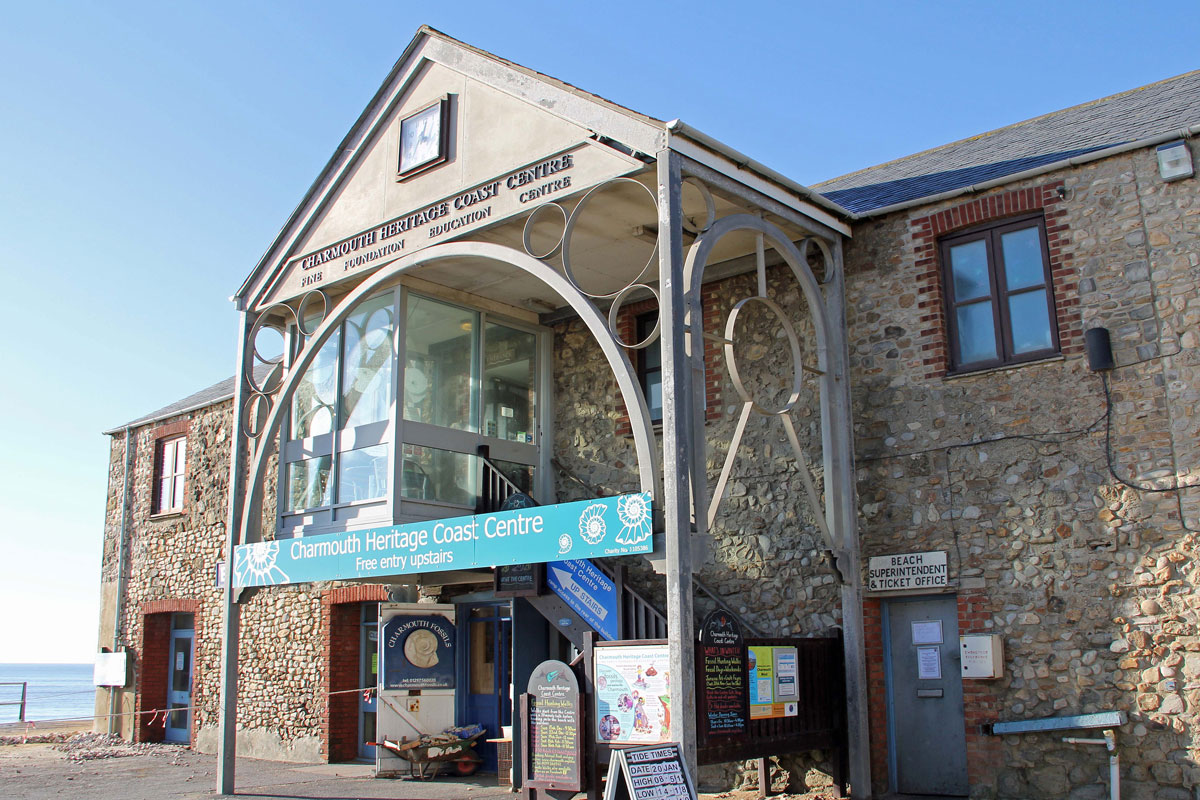 The Charmouth Heritage Coast Centre