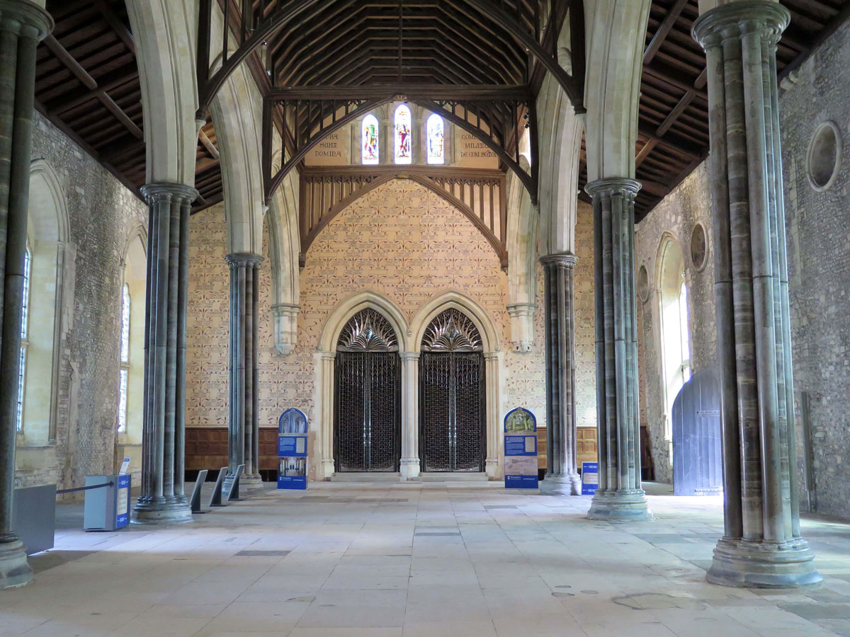 The Great Hall looking east