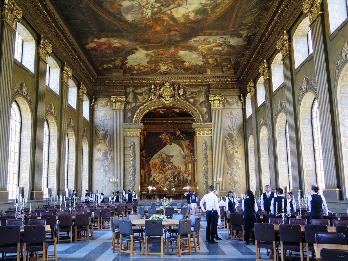 The Painted Hall - Lower Hall