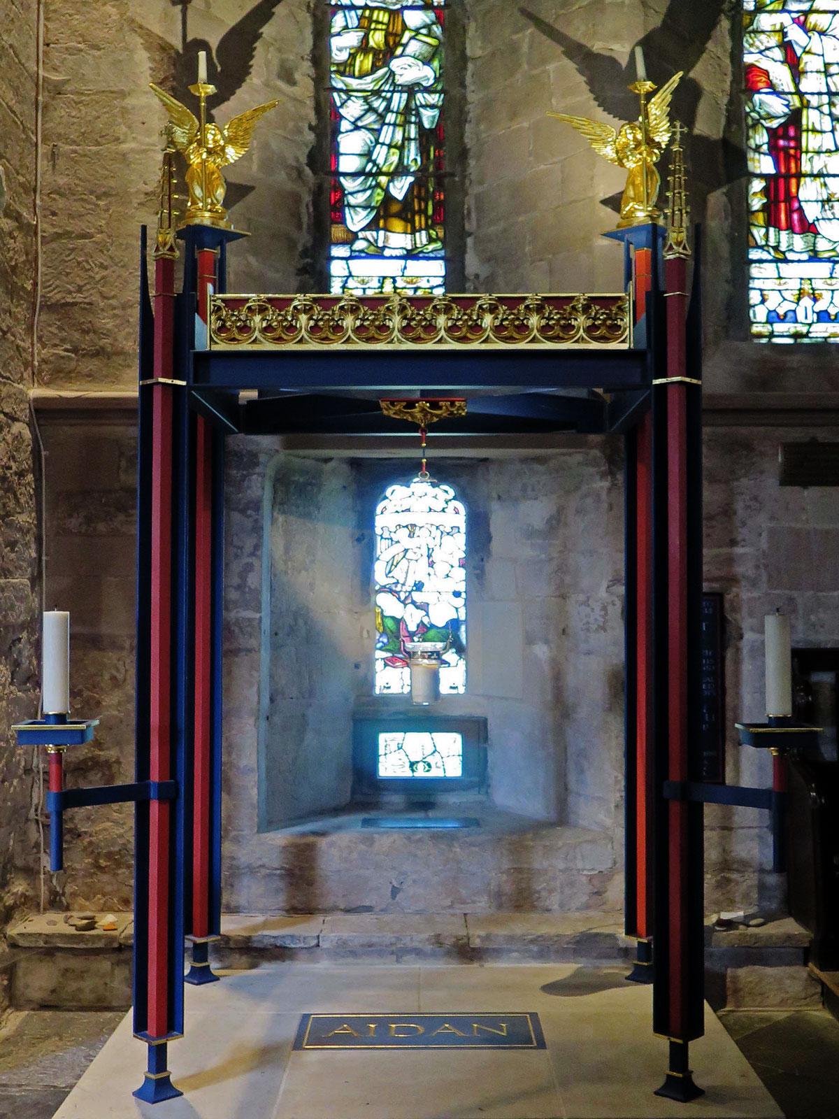 St. Aidan's Shrine in Bamburgh