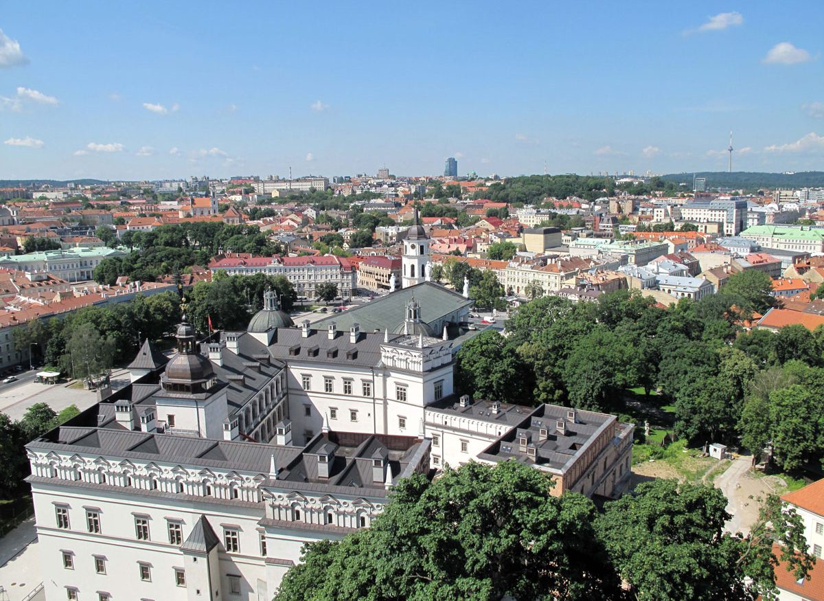View from the Tower over the Grand Duke's Palace
