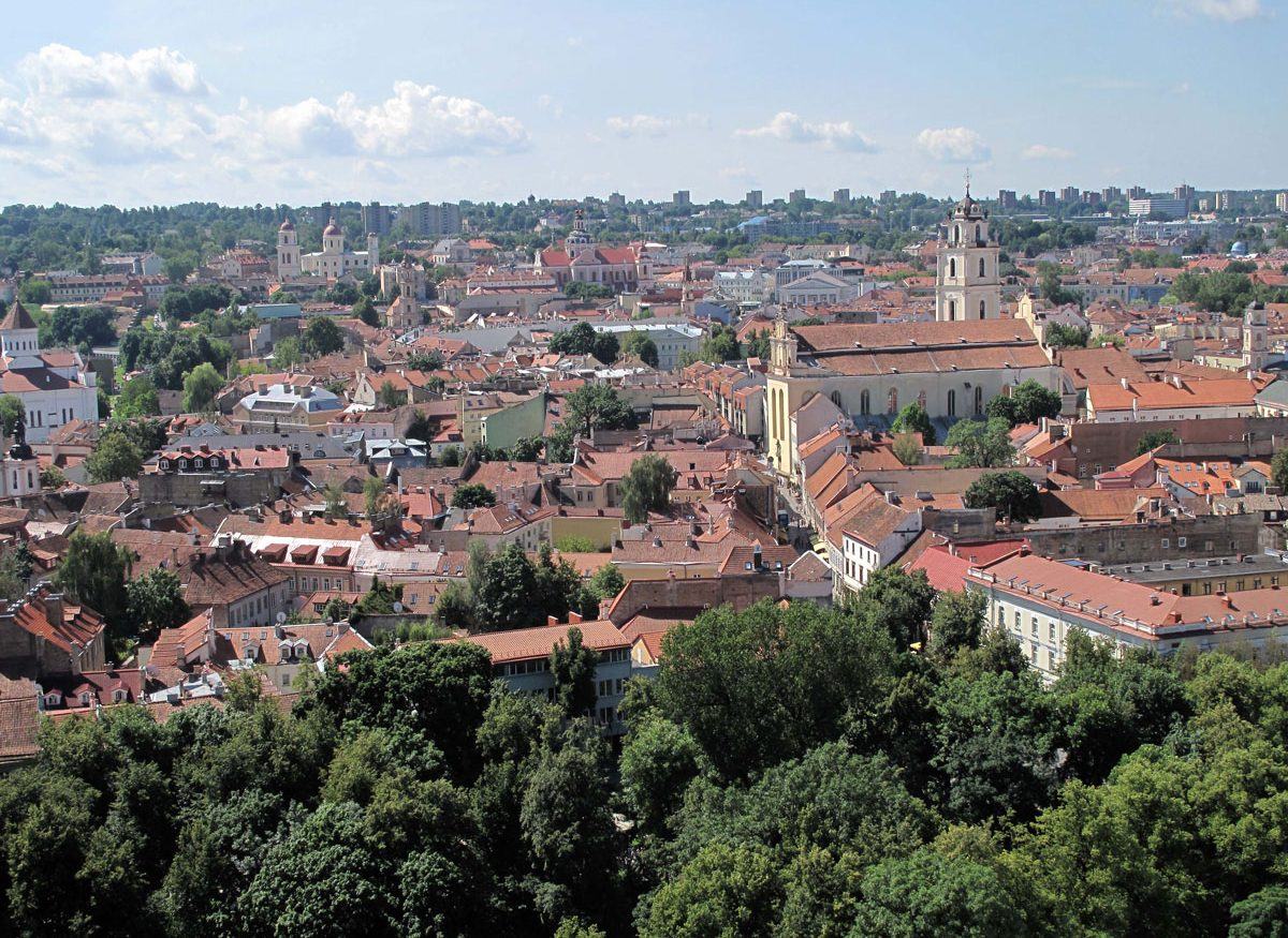 View from the Tower over the Old Town