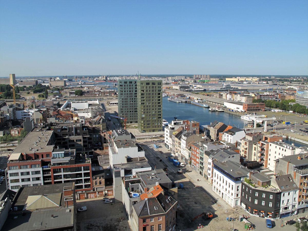 The Eilandje Docks Area