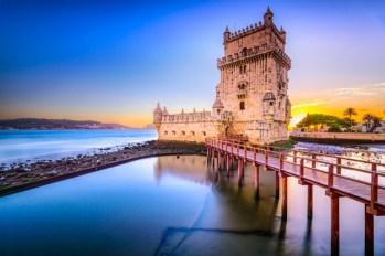 Lisbona. Torre di Belém. Il fascino della storica fortezza sul fiume Tago