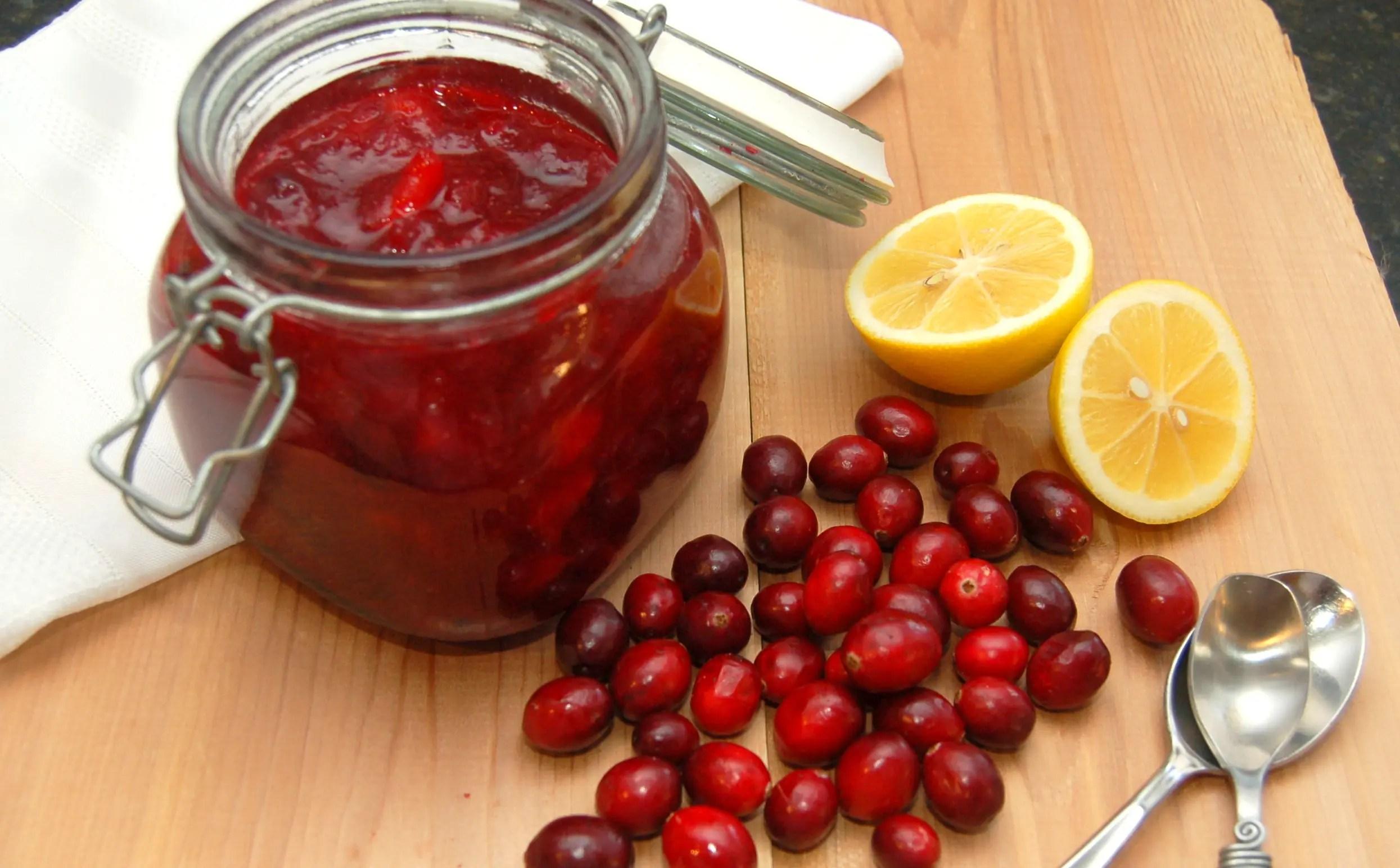 Homemade Cranberry Relish
