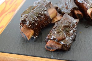 Maple Glazed, Braised Beef Short Ribs
