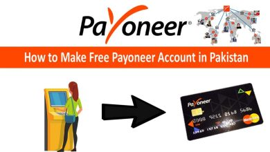 How to make free Payoneer account in pakistan