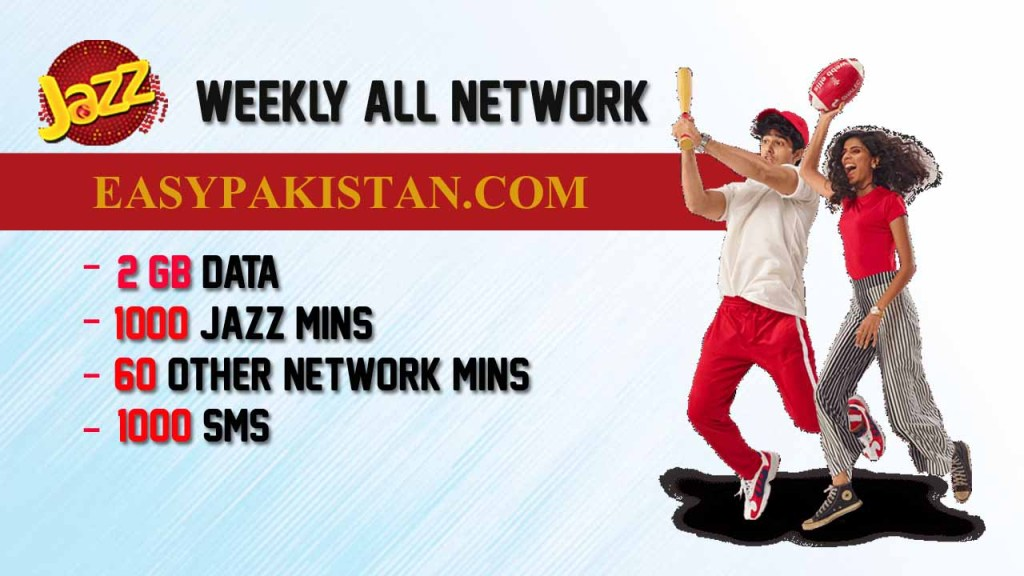 JAZZ WEEKLY ALL NETWORKS PACKAGE