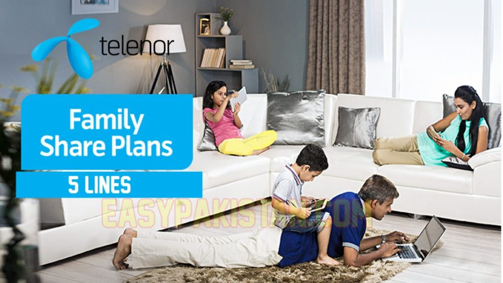 Family Share Plans (5 Lines)