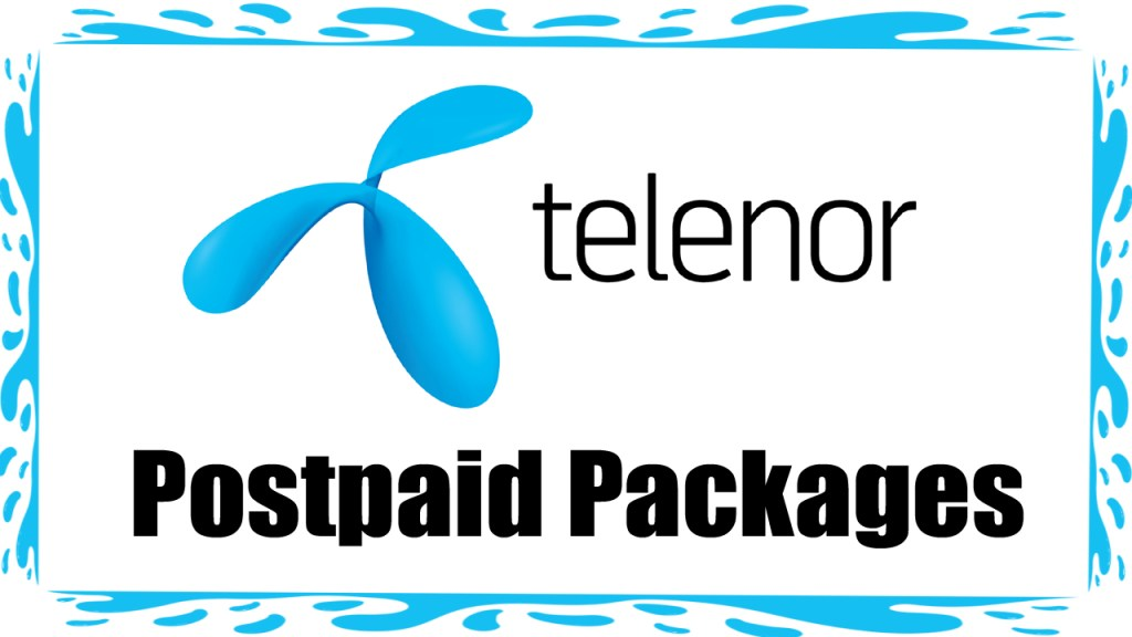 Telenor postpaid packages 2021