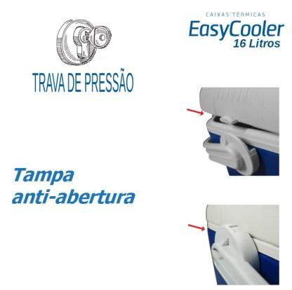 CAIXA TÉRMICA EASYCOOLER 16L-858