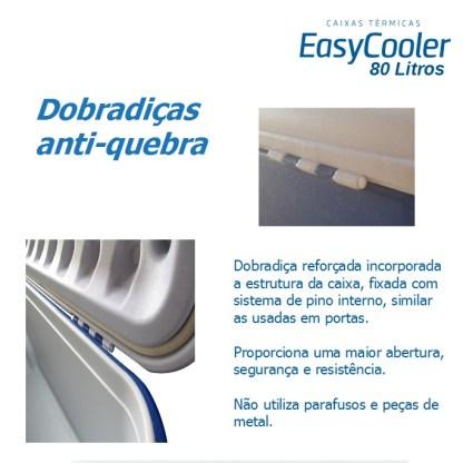 CAIXA TÉRMICA EASYCOOLER 80L COM RODA-995