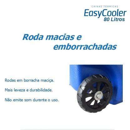CAIXA TÉRMICA EASYCOOLER 80L COM RODA-993