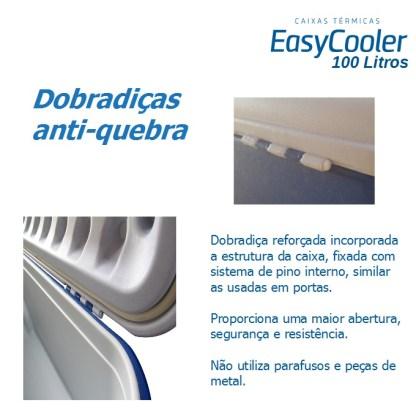 CAIXA TÉRMICA EASYCOOLER 100L COM RODA-1004