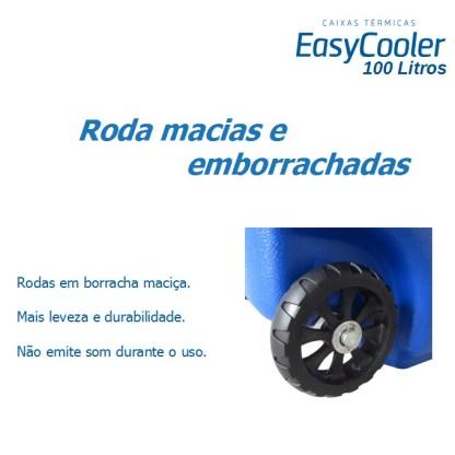 CAIXA TÉRMICA EASYCOOLER 100L COM RODA-1010