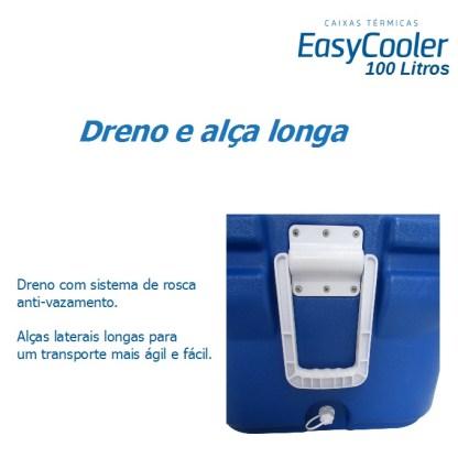 CAIXA TÉRMICA EASYCOOLER 100L COM RODA-1007