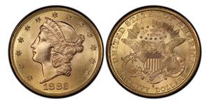 20 δολαρια χρυσό