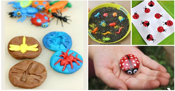 15 Bug Crafts And Activities Easy Peasy And Fun
