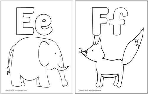coloring pages letters # 45
