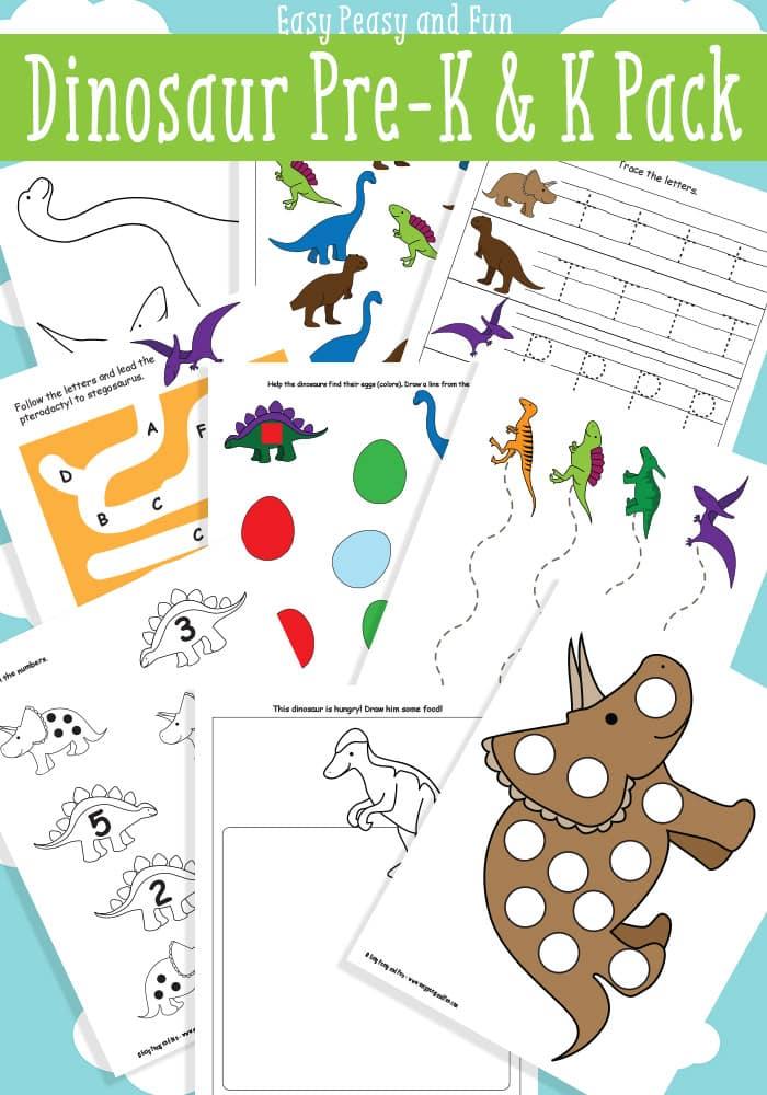 Dinosaur Printables For Preschool Easy Peasy And Fun