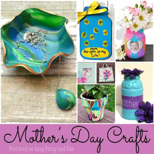 Mothers Day Crafts for Kids - Easy Peasy and Fun