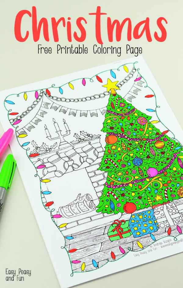 printable holiday coloring pages # 56