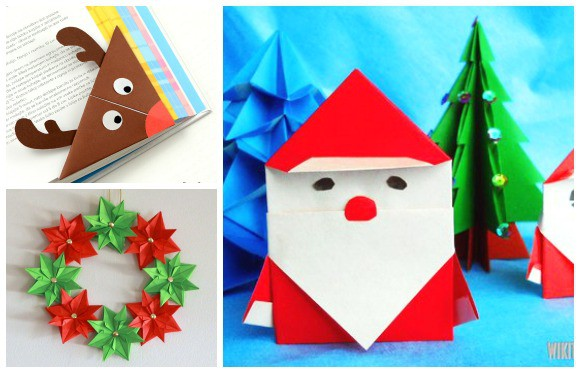 Christmas Origami For Kids Easy Peasy And Fun