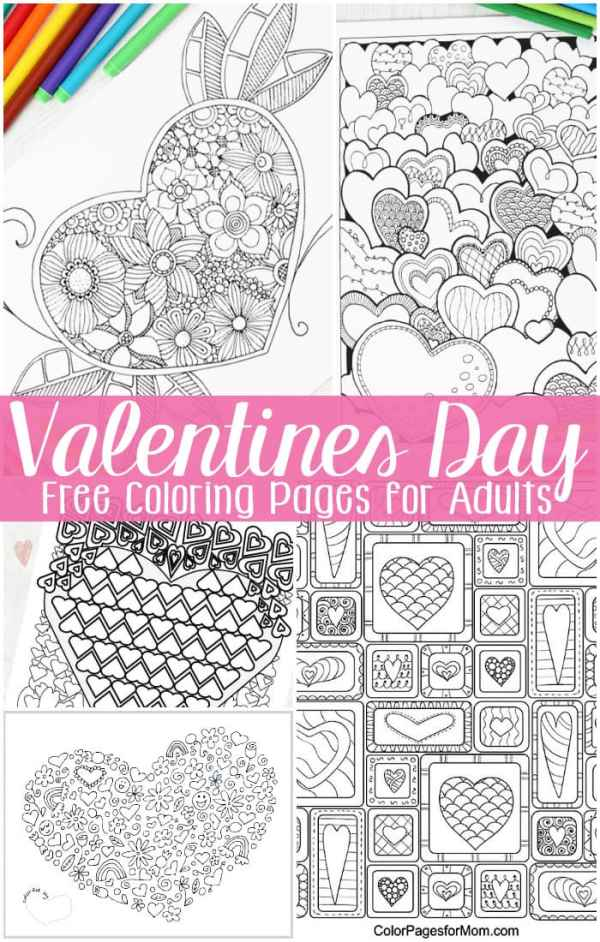 printable valentines day coloring pages # 11