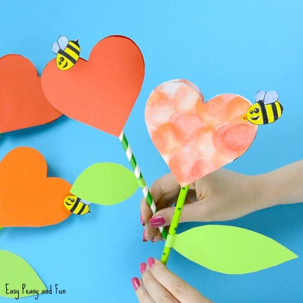 Valentines Day Crafts for Kids - Art and Craft Ideas for ...