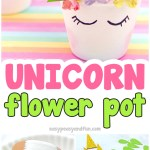 Unicorn Planter Magical Diy Succulent Plant Pot Idea Easy Peasy And Fun