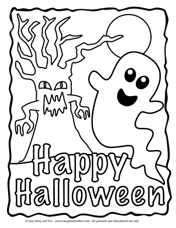 coloring halloween pages # 15