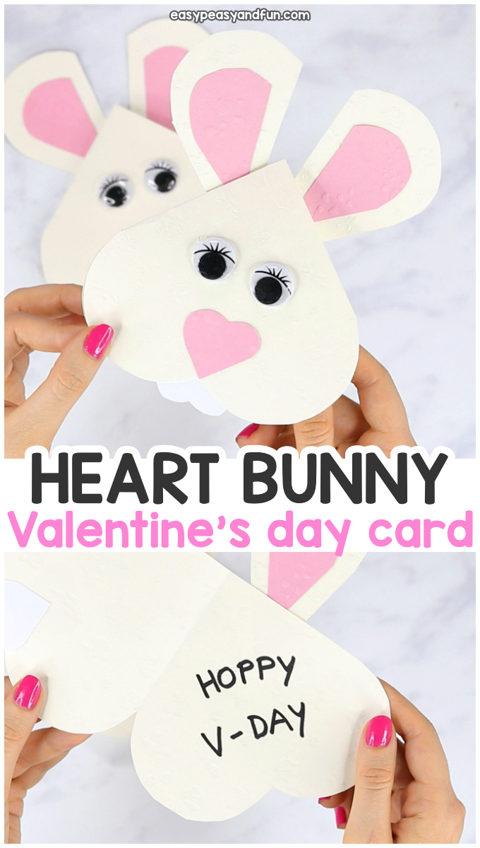 Heart Bunny Craft for Kids