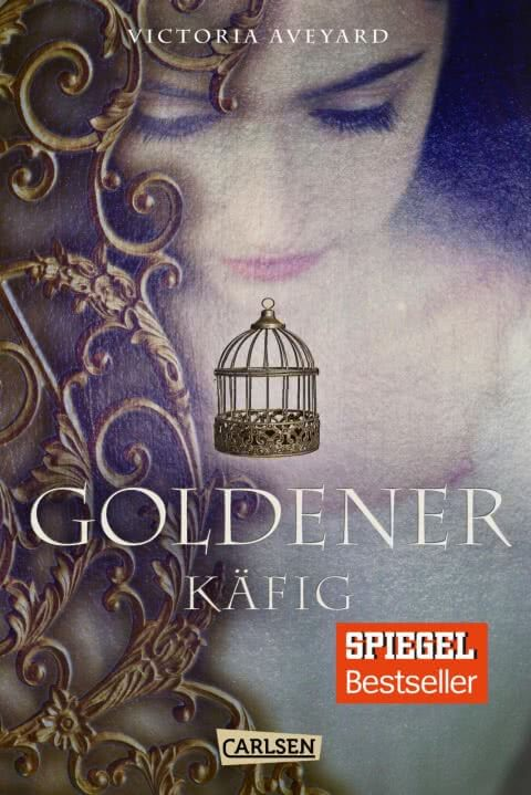 Young Adult Buch Goldener Käfig von Victoria Aveyard