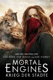 Film Poster Mortal Engines Krieg der Städte