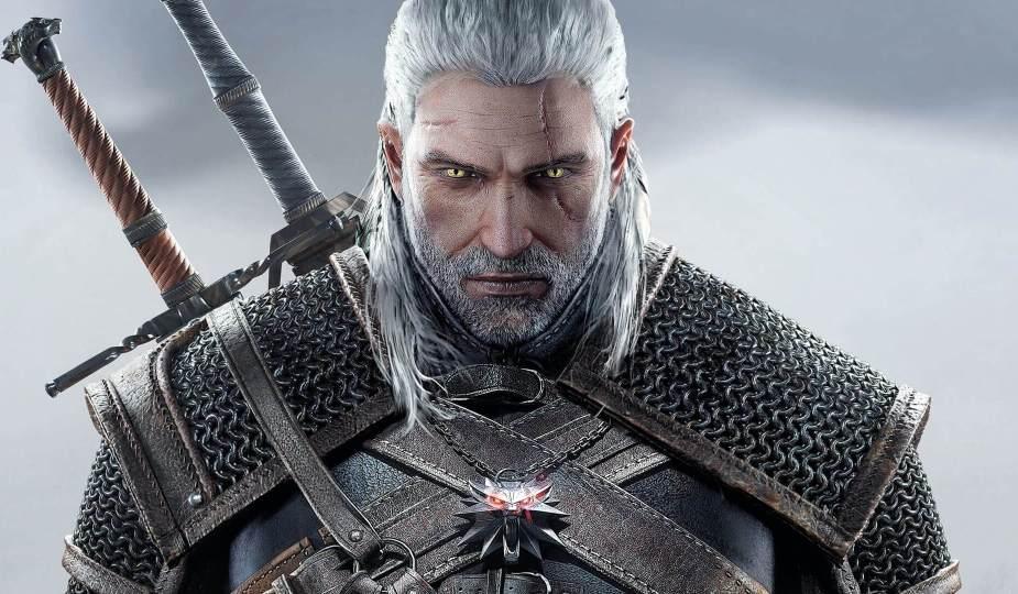 Geralt von Riva in the Witcher 3: Wild Hunt