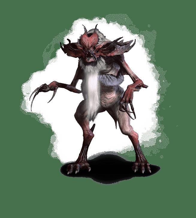 Ekimma aus Witcher 3 Wild Hund Bestiarium